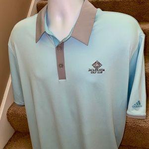 Adidas *ClimaCool* men's casual golf polo shirt XL